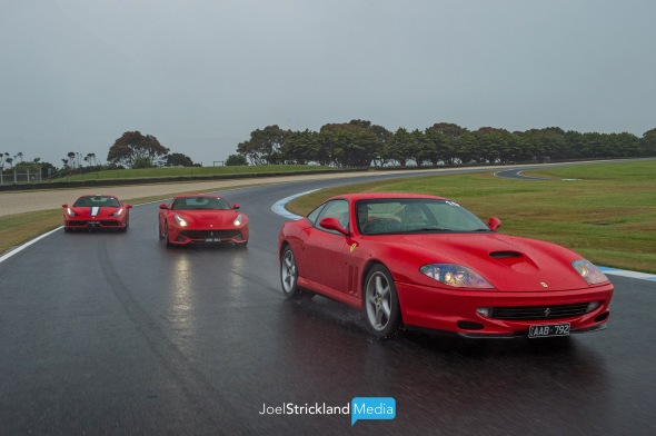 Zagame Ferrari Track Day - Phillip Island - November 2017